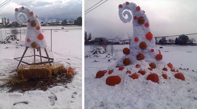"""Nightmare Before Christmas"" Yard Decor"