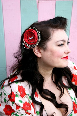 How-To: Rockabilly Hair Fascinator