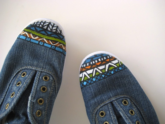 How-To: Painted Designs for Shoe Toes