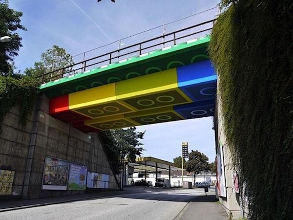 Giant Lego Bridge