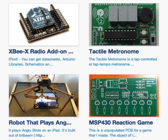 "Tindie: ""A Fun Store For People To Sell Their Hardware Creations"""