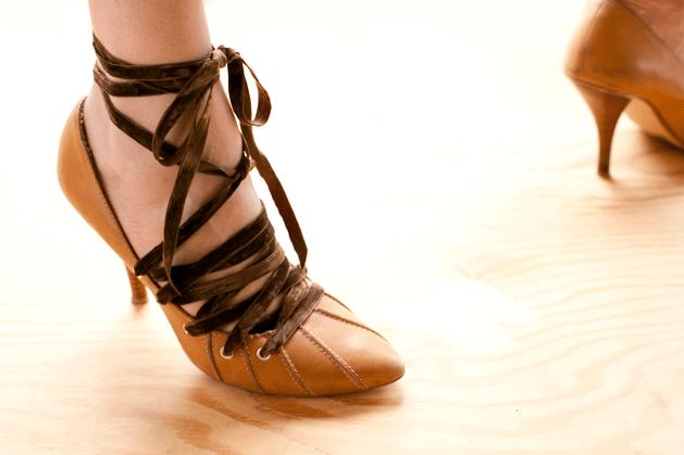 Flashback: Laced High Heels