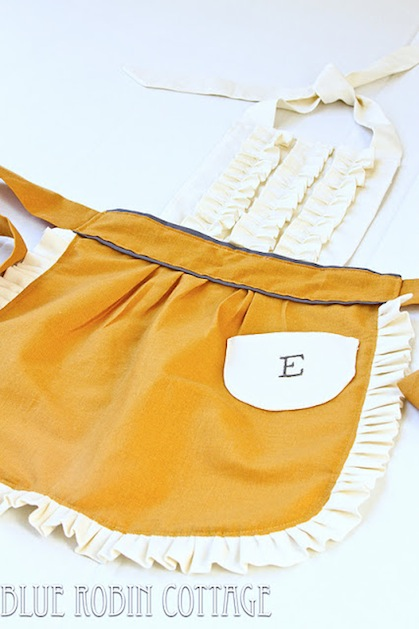 How-To: Ruffled Play Apron