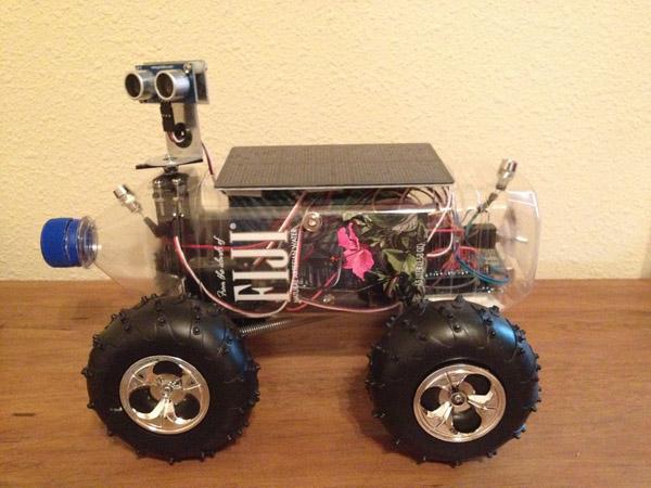Fijibot, an Autonomous Solar-Charging Robot