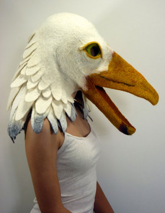 Felted Animal Masks