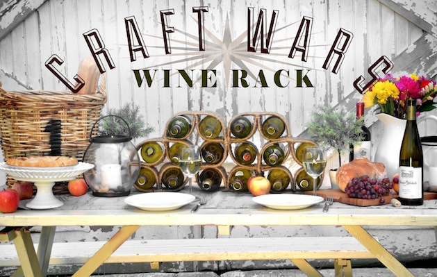How-To: Twine-Wrapped Wine Rack