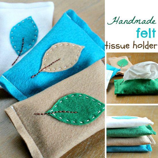 How-To: Felt Tissue Holder