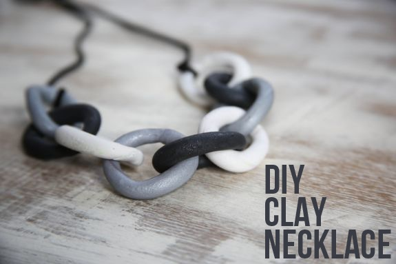 How-To: Clay Chain Necklace