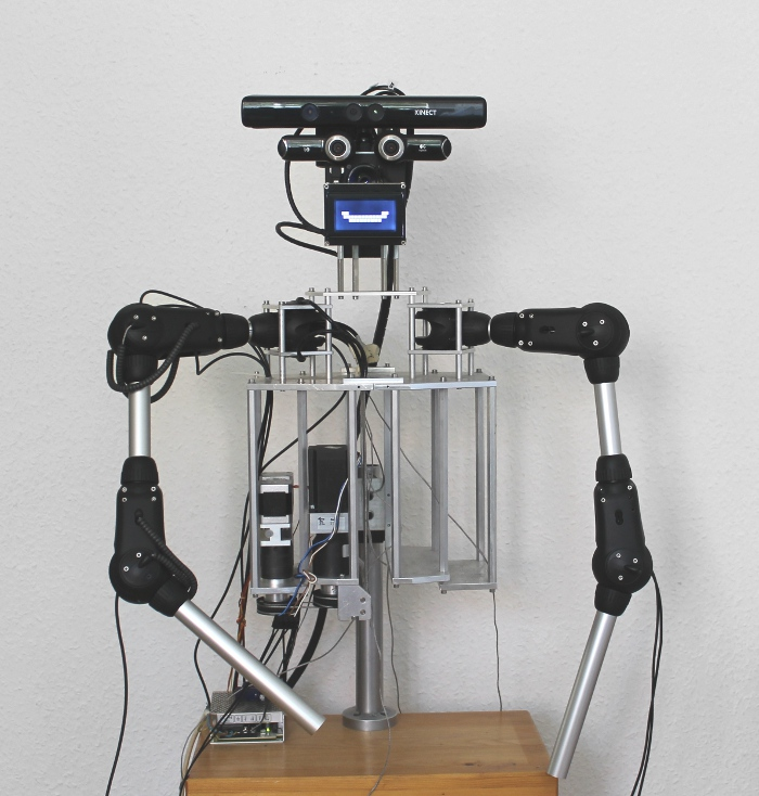 Kinect-Equipped Humanoid Robot