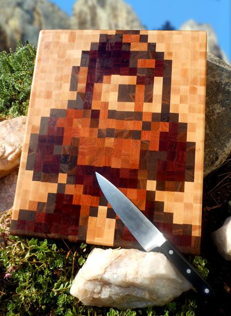 Mega Man Cutting Board