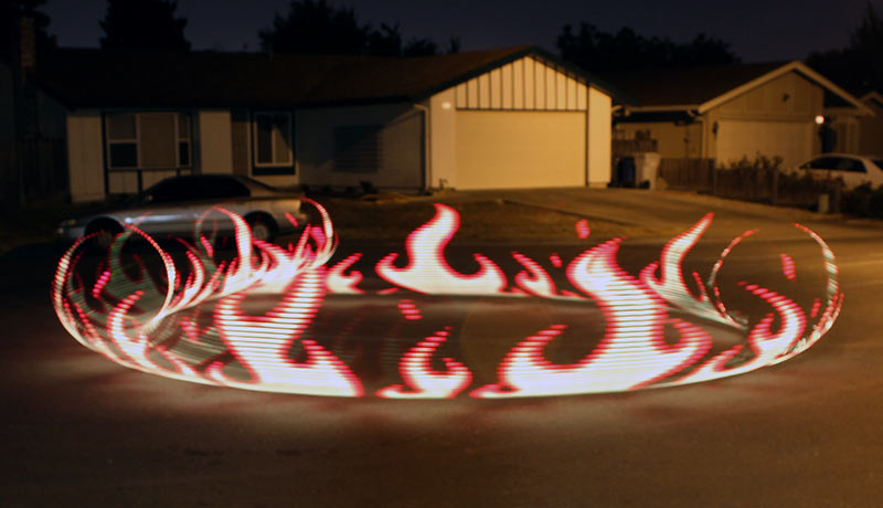 Light Painting with Raspberry Pi