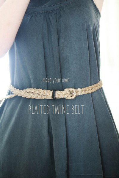 How-To: Braided Twine Belt