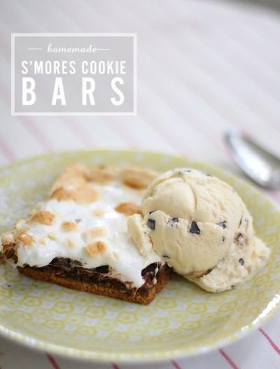 Recipe: S'mores Cookie Bars