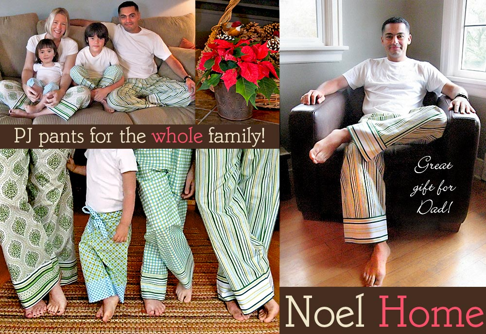 How-To: Pajama Pants for the Whole Family