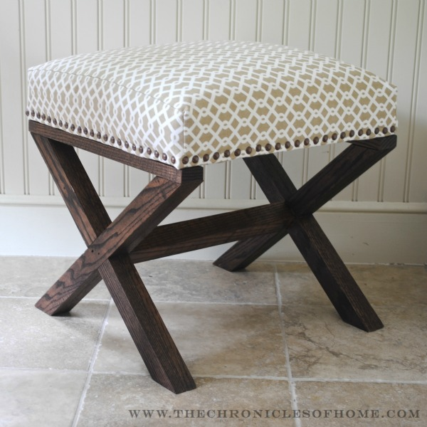 How-To: DIY Upholstered Bench