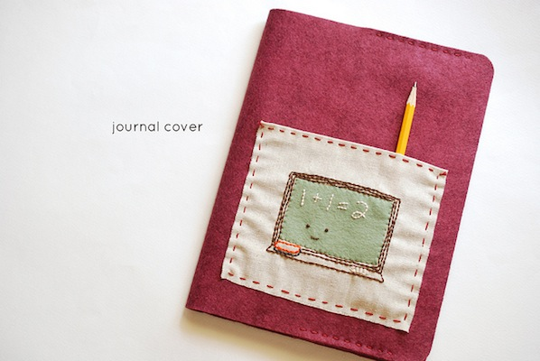 How-To: Felt Journal Cover with Pocket