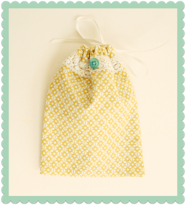 How-To: Drawstring Gift Card Bag