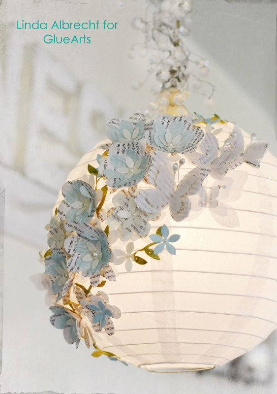 How-To: Embellished Paper Lantern