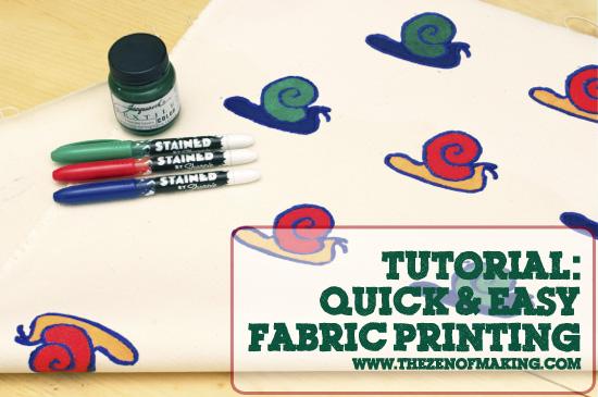 Fabric Printing Tutorial