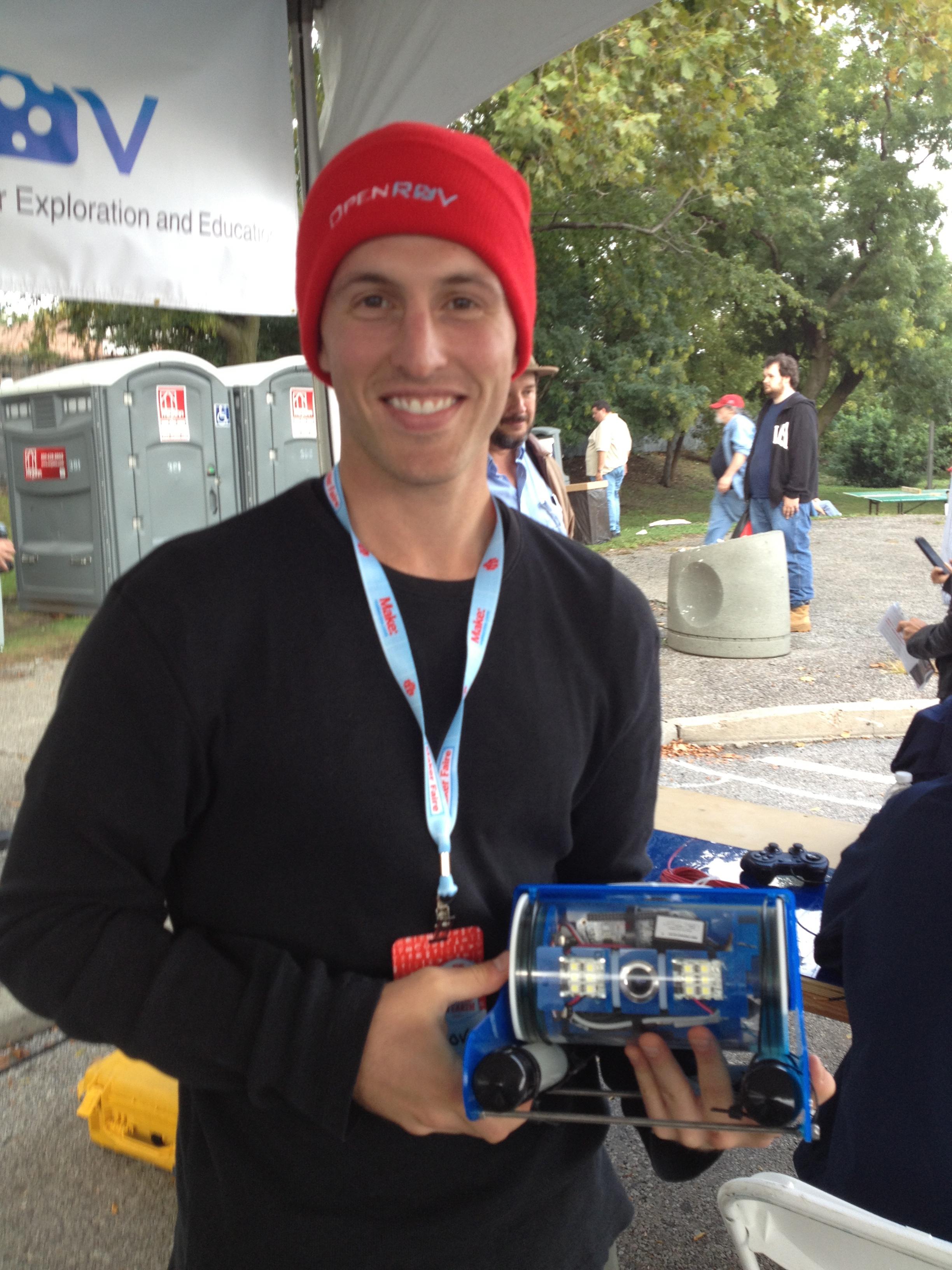 Open ROV at Maker Faire