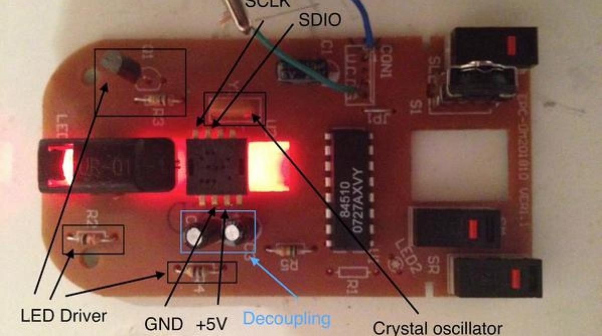 Turning A Cheap Optical Mouse Into Robot Odometer Make Recycled Circuit Board Clock Is Made From Article Featured Image