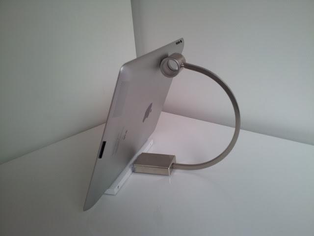 Kitchen Handle iPad Stand