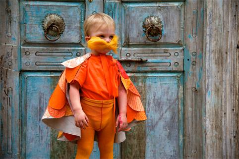 Dr. Suess's Lorax Halloween Costume