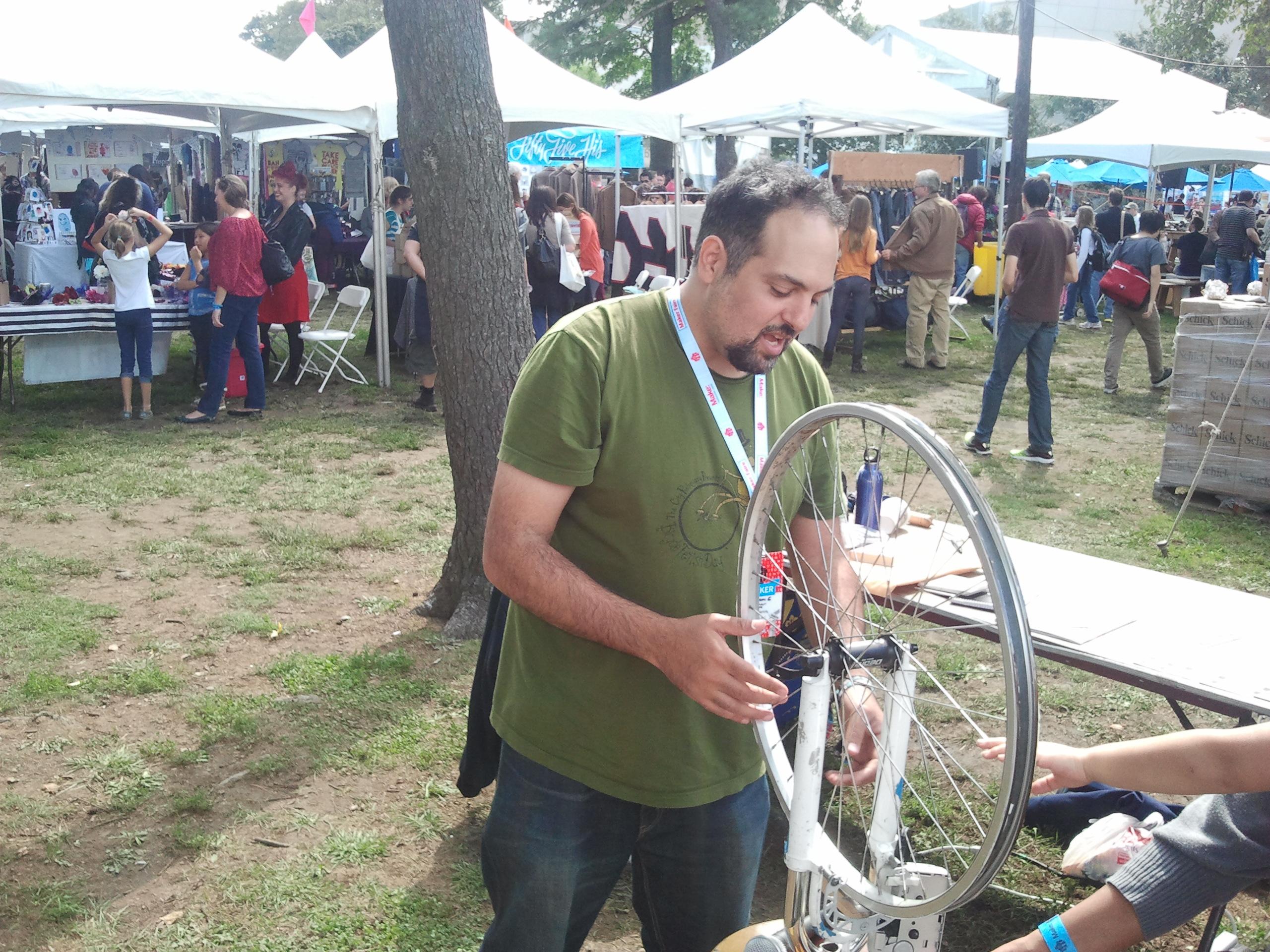 Maker Faire New York: Adam Matta, Human Beatbox