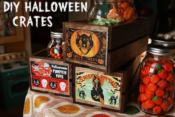 How-To: Halloween Crates