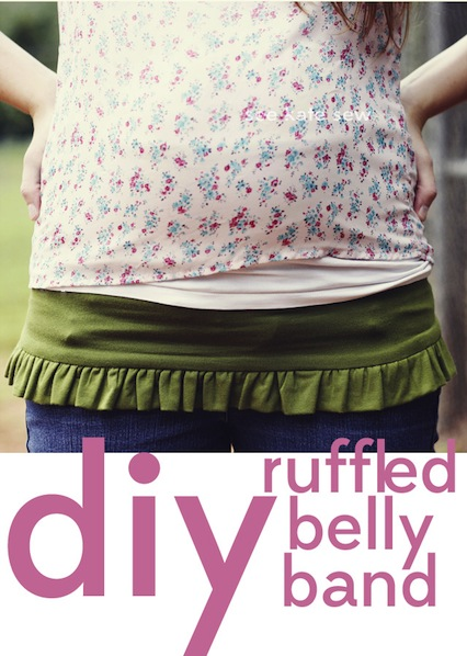 How-To: Ruffled Belly Band