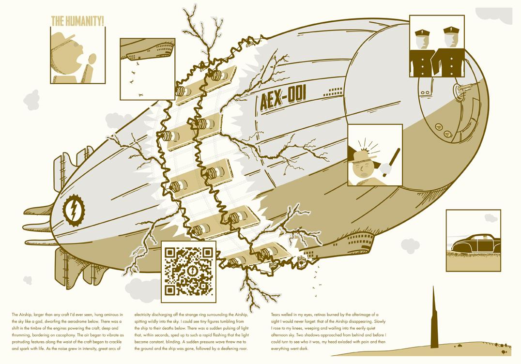 The Airship: A DIY Graphic Novel