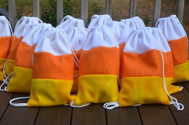 How-To: Candy Corn Backpack