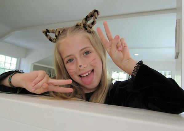 Flashback: Kitty-Cat Braids