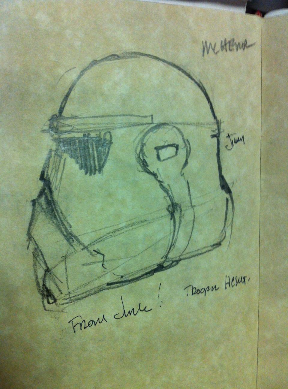 DiResta: Jimmy Carves a Stormtrooper Helmet for Halloween