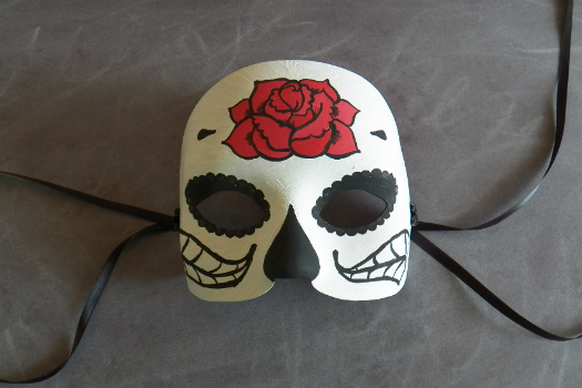 DIY Day of the Dead Mask