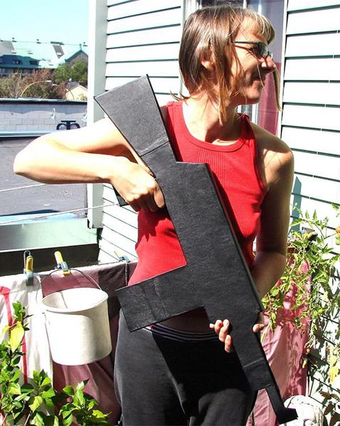 Gun-Shaped Book Binding