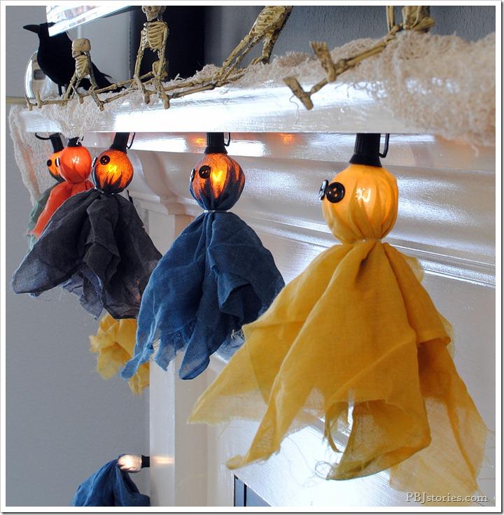 Halloween Ghost Light Garland