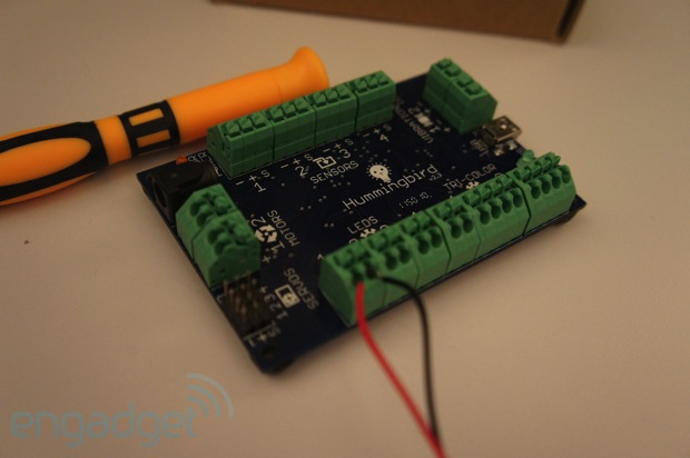"Hummingbird: ""Pre-Arduino"" for Kids"