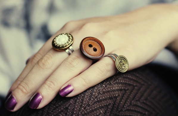 How-To: Button Rings