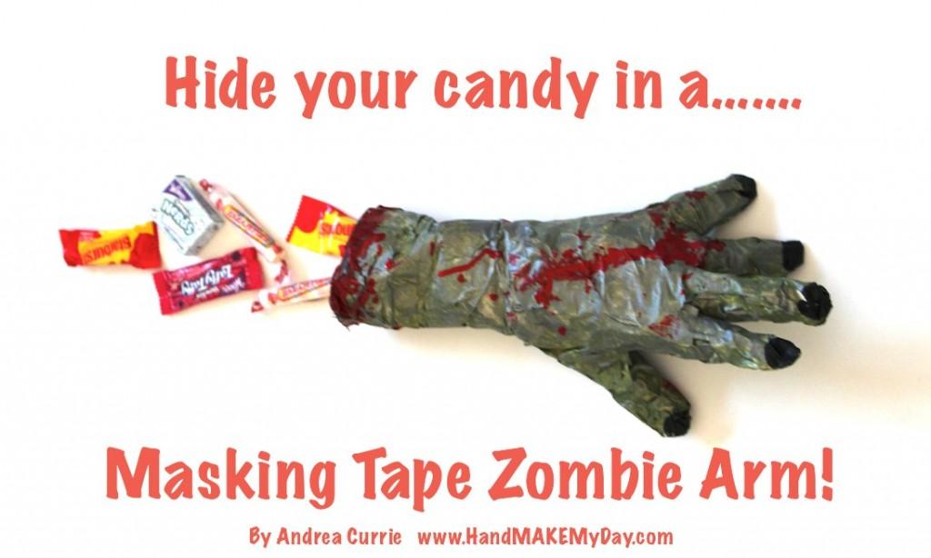 Walking Dead Masking Tape Zombie Arm