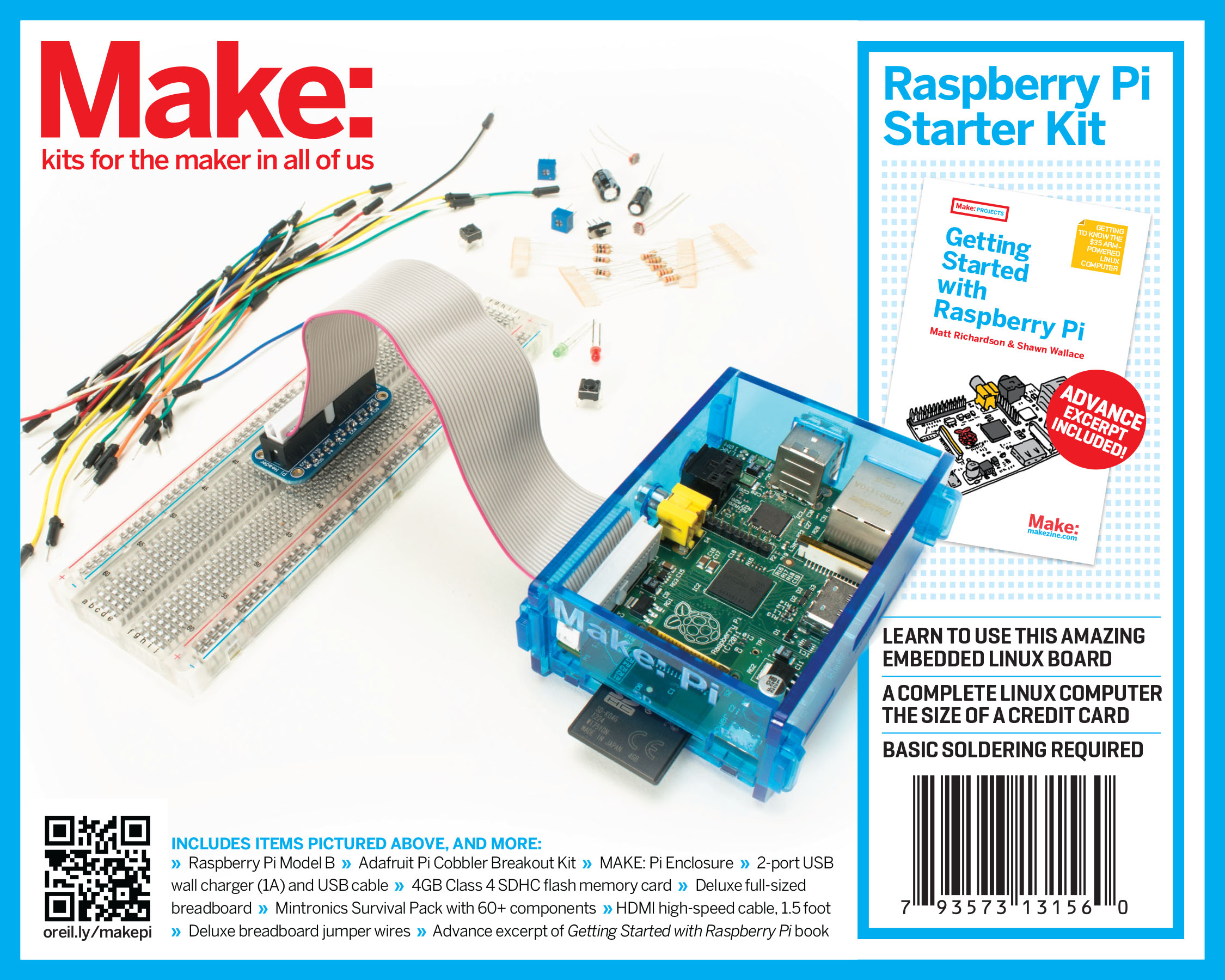 Raspberry Pi Boards and Starter Kits Now Available in the Maker Shed!