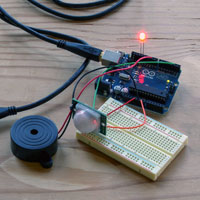 Build a Basic Infrared Motion Alarm with Weekend Projects