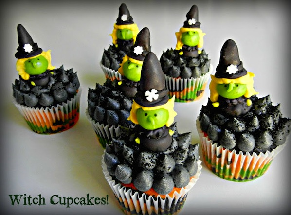How-To: Witch Cupcakes