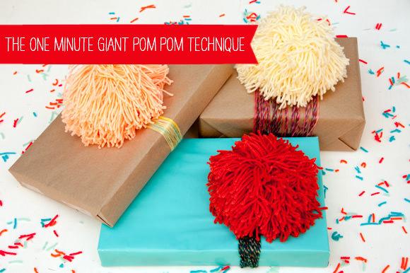 Giant Pom Pom How-To