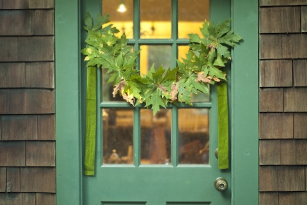 Flashback: Make a Sewn Leaf Garland