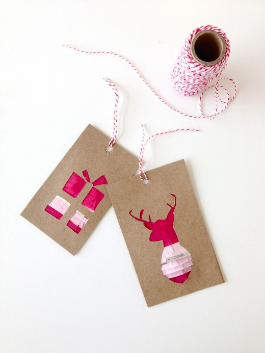 How-To: Fringed Gift Tags