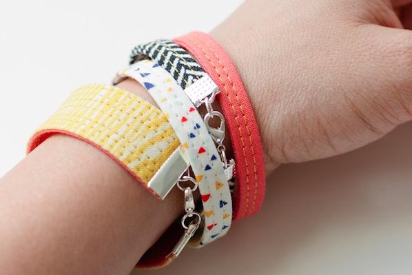 How-To: Fabric Bracelets