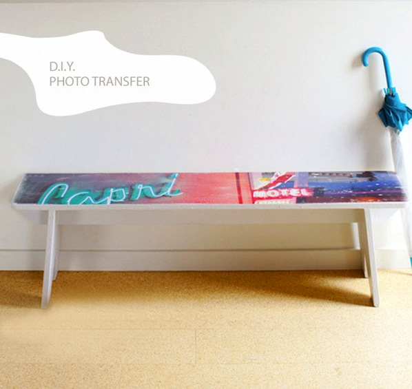 How-To: Photo Transfer Bench