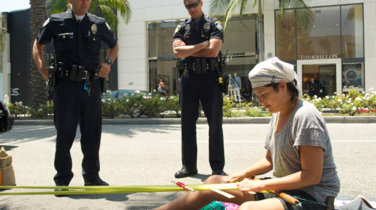 Criminal Crafting: Tanya Aguiñiga vs. The Beverly Hills Police