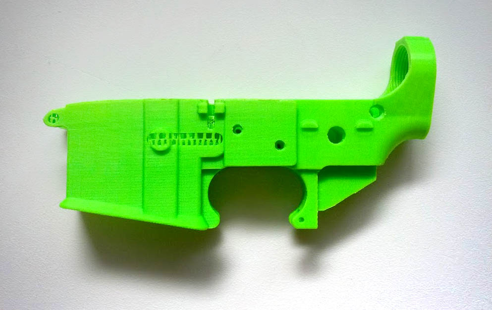Thingiverse Cracks Down on Firearm Parts